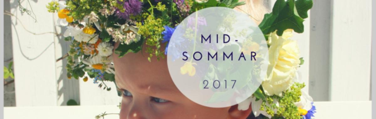 Midsommar, festivaltider och semester